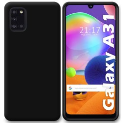 Funda Silicona Gel TPU Negra para Samsung Galaxy A31