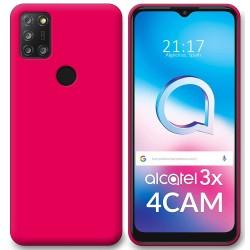 Funda Silicona Gel TPU Rosa para Alcatel 3X 4CAM