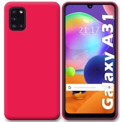 Funda Silicona Gel TPU Rosa para Samsung Galaxy A31