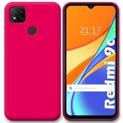 Funda Silicona Gel TPU Rosa para Xiaomi Redmi 9C
