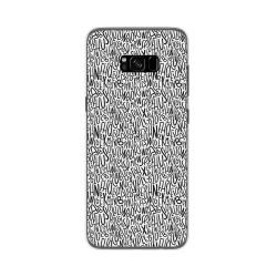 Funda Gel Tpu para Samsung Galaxy S8 Plus Diseño Letras Dibujos