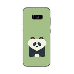 Funda Gel Tpu para Samsung Galaxy S8 Plus Diseño Panda Dibujos