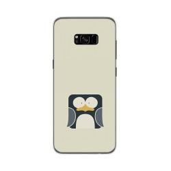 Funda Gel Tpu para Samsung Galaxy S8 Plus Diseño Pingüino Dibujos