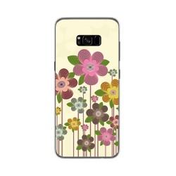 Funda Gel Tpu para Samsung Galaxy S8 Plus Diseño Primavera En Flor  Dibujos