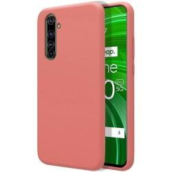 Funda Silicona Líquida Ultra Suave para Realme X50 Pro 5G color Rosa