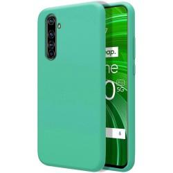 Funda Silicona Líquida Ultra Suave para Realme X50 Pro 5G color Verde