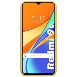 Funda Silicona Líquida Ultra Suave para Xiaomi Redmi 9C color Amarilla