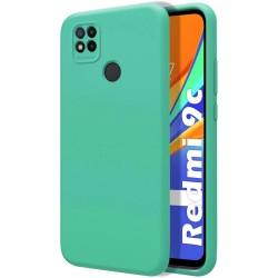 Funda Silicona Líquida Ultra Suave para Xiaomi Redmi 9C color Verde