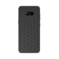 Funda Gel Tpu para Samsung Galaxy S8 Plus Diseño Metal Dibujos