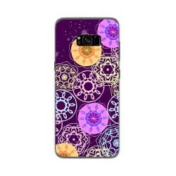 Funda Gel Tpu para Samsung Galaxy S8 Plus Diseño Radial Dibujos