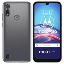 Funda Silicona Gel TPU Transparente para Motorola Moto e6s