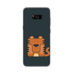 Funda Gel Tpu para Samsung Galaxy S8 Plus Diseño Tigre Dibujos