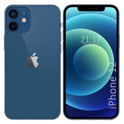 Funda Silicona Gel TPU Transparente para Iphone 12 / 12 Pro (6.1)