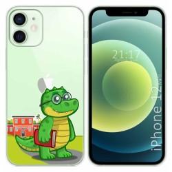 Funda Gel Transparente para Iphone 12 Mini (5.4) diseño Coco Dibujos