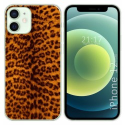 Funda Gel Tpu para Iphone 12 Mini (5.4) diseño Animal 03 Dibujos