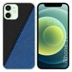 Funda Gel Tpu para Iphone 12 Mini (5.4) diseño Cuero 02 Dibujos