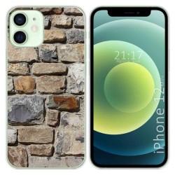 Funda Gel Tpu para Iphone 12 Mini (5.4) diseño Ladrillo 03 Dibujos