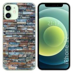 Funda Gel Tpu para Iphone 12 Mini (5.4) diseño Ladrillo 05 Dibujos