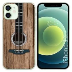 Funda Gel Tpu para Iphone 12 Mini (5.4) diseño Madera 11 Dibujos