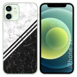 Funda Gel Tpu para Iphone 12 Mini (5.4) diseño Mármol 01 Dibujos