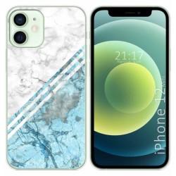 Funda Gel Tpu para Iphone 12 Mini (5.4) diseño Mármol 02 Dibujos