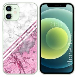 Funda Gel Tpu para Iphone 12 Mini (5.4) diseño Mármol 03 Dibujos