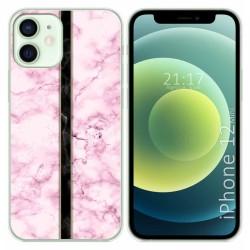 Funda Gel Tpu para Iphone 12 Mini (5.4) diseño Mármol 04 Dibujos