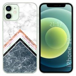 Funda Gel Tpu para Iphone 12 Mini (5.4) diseño Mármol 05 Dibujos