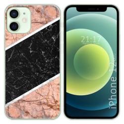 Funda Gel Tpu para Iphone 12 Mini (5.4) diseño Mármol 07 Dibujos