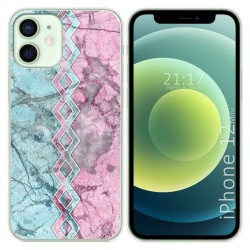 Funda Gel Tpu para Iphone 12 Mini (5.4) diseño Mármol 08 Dibujos