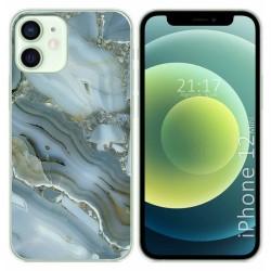 Funda Gel Tpu para Iphone 12 Mini (5.4) diseño Mármol 09 Dibujos