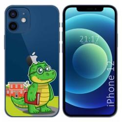Funda Gel Transparente para Iphone 12 / 12 Pro (6.1) diseño Coco Dibujos
