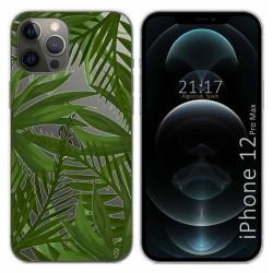 Funda Gel Transparente para Iphone 12 Pro Max (6.7) diseño Jungla Dibujos