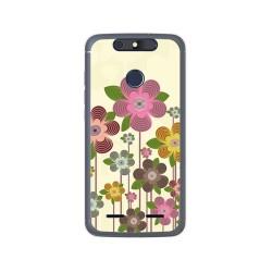 Funda Gel Tpu para Zte Blade V8 Lite Diseño Primavera En Flor  Dibujos
