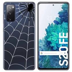 Funda Gel Transparente para Samsung Galaxy S20 FE diseño Araña Dibujos