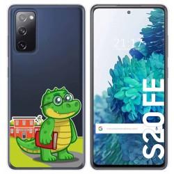 Funda Gel Transparente para Samsung Galaxy S20 FE diseño Coco Dibujos