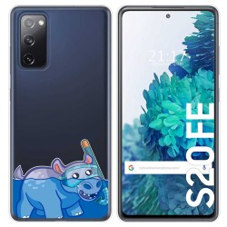 Funda Gel Transparente para Samsung Galaxy S20 FE diseño Hipo Dibujos