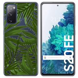 Funda Gel Transparente para Samsung Galaxy S20 FE diseño Jungla Dibujos