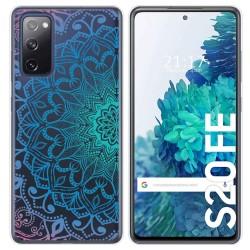 Funda Gel Transparente para Samsung Galaxy S20 FE diseño Mandala Dibujos