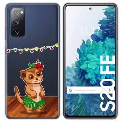 Funda Gel Transparente para Samsung Galaxy S20 FE diseño Suricata Dibujos