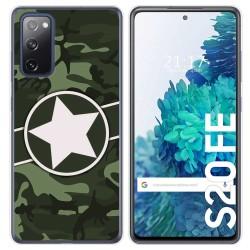 Funda Gel Tpu para Samsung Galaxy S20 FE diseño Camuflaje 01 Dibujos