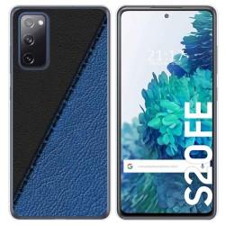 Funda Gel Tpu para Samsung Galaxy S20 FE diseño Cuero 02 Dibujos