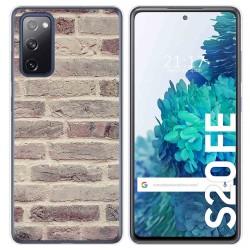 Funda Gel Tpu para Samsung Galaxy S20 FE diseño Ladrillo 01 Dibujos