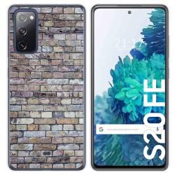 Funda Gel Tpu para Samsung Galaxy S20 FE diseño Ladrillo 02 Dibujos