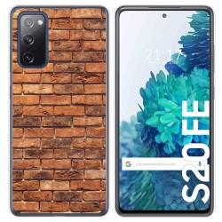 Funda Gel Tpu para Samsung Galaxy S20 FE diseño Ladrillo 04 Dibujos