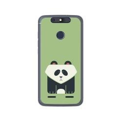 Funda Gel Tpu para Zte Blade V8 Lite Diseño Panda Dibujos
