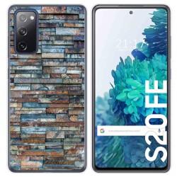 Funda Gel Tpu para Samsung Galaxy S20 FE diseño Ladrillo 05 Dibujos