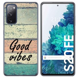 Funda Gel Tpu para Samsung Galaxy S20 FE diseño Madera 01 Dibujos