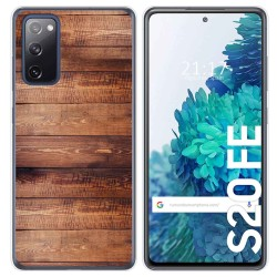 Funda Gel Tpu para Samsung Galaxy S20 FE diseño Madera 02 Dibujos