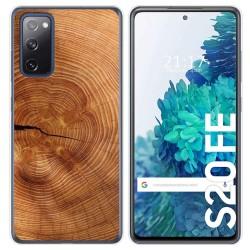 Funda Gel Tpu para Samsung Galaxy S20 FE diseño Madera 04 Dibujos